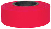 Intertape Polymer Group Flagging Ribbon, Red Glo, 144/CA, #6882