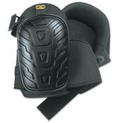 CLC Custom Leather Craft Professional Tread-Pattern Kneepads, Slide Buckle, Black, 1/PR, #345
