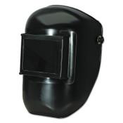 Honeywell Protective Cap Welding Helmet Shells with 5000 Mounting Loop, 4 x 5, Black, 1/EA, #5990BK