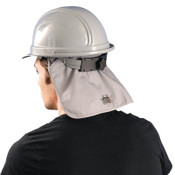 OccuNomix MiraCool FR Hard Hat Pads w/ Shade, Grey, 1/EA, #969FR