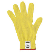 Ansell GoldKnit Lightweight Gloves, Size 7, Yellow, 12 Pair, #103766