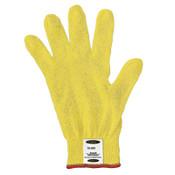 Ansell GoldKnit Lightweight Gloves, Size 7, Yellow, 12/DZ, #103766