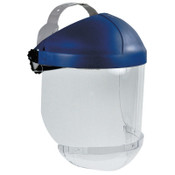 3M Ratchet Headgear, Head and Face Protection, with Clear Chin Protector, 1/EA, #7000002293