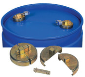 "Justrite DRUM LOCKS FOR 55 GALLON POLY DRUM 3/4"" NPT, 1/EA, #8509"