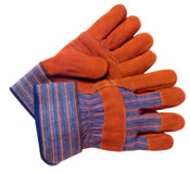 Anchor Products Work Gloves, Large, Cowhide, Blue, 1/PR, #WG999