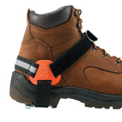 Ergodyne TREX Strap-On Heel Ice Traction Device, Medium/Large, Steel, Black, 6/BX, #16777