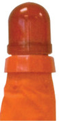 Aervoe Industries Safety Cone LED Flasher Replacements, Red, 12/CA, #1195