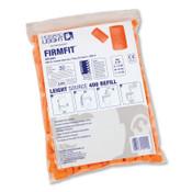 Honeywell Earplug Dispenser Refills, Bag, Orange, FirmFit, 1/BG, #FFLS4REFILL