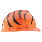 MSA Officially-Licensed NFL V-Gard Helmets, 1-Touch, Cincinnati Bengals Logo, 1/EA, #818390