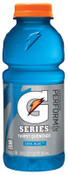 Gatorade 20 Oz. Wide Mouth, Cool Blue, 20 oz, Bottle, 1/CA, #32481