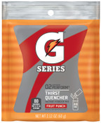 Gatorade Instant Powder, Fruit Punch, 2.12 oz, Pack, 144/CA, #33808