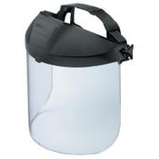 Honeywell Protecto-Shield Headgear with Visor, Aluminum, 1/EA, #11340143