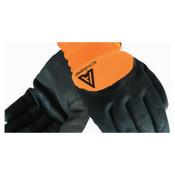 Ansell Cold Weather Hi-Viz Gloves, Size 8, Orange/Black, 6/BX, #112733