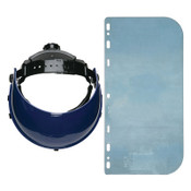 MCR Safety Ratchet Headgear, 8in x 15in, Polycarbonate, 16/BX, #103540
