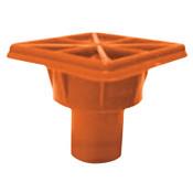 Cortina Bargard Protector Cover, 3 1/2 in x 3 1/2 in, Orange, 1/EA, #971810