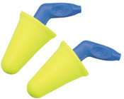 3M E-A-R Push-Ins SofTouch Earplug 318-4000, Polyurethane, Yellow, Pistol-Grip, Uncorded, 200/BX, #7000127214