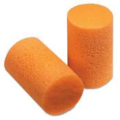 Honeywell FirmFit Earplugs, Foam, Dispenser Refill, Uncorded, 30dB, Orange, 1/BX, #FF1D