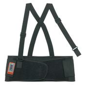 Ergodyne ProFlex 1650 Economy Elastic Back Supports, 2X-Large, Black, 6/CA, #11096