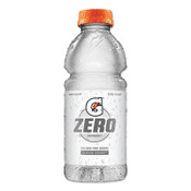 Gatorade G Zero Sugar Thirst Quencher, 20 oz., Bottle, Glacier Cherry, 24/CA, #4214