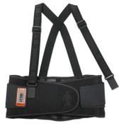 Ergodyne ProFlex 1100SF Standard Back Supports, Large, Black, 1/EA, #11604