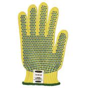 Ansell GoldKnit Mediumweight Gloves, Size 8, Yellow, 12/DZ, #103783