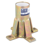 Capital Safety Advanced Floor Mount Sleeve Davit Bases, Davit Base, 12.9lb, 1/EA, #8516190