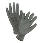 Anchor Products Coated Gloves, Medium, Gray, 12 Pair, #6050m
