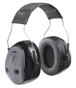 3M Peltor PTL Earmuffs, 26 dB, Gray, Over-the-Head Earmuff, 1/EA, #7000002318