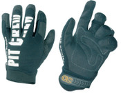 CLC Custom Leather Craft Pit Crew Gloves, Black, Large, 1/PR, #220BL