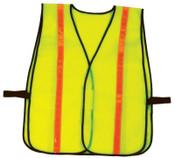 Ergodyne GloWear Non-Certified Vests, 8040HL, One Size, Lime, Hi-Gloss, 6/CA, #20080