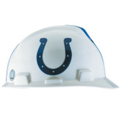 MSA Officially-Licensed NFL V-Gard Helmets, 1-Touch, Indianapolis Colts Logo, 1/EA, #818396