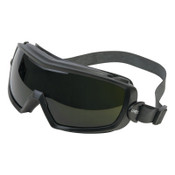 Honeywell Entity Goggles, Matte Black Frame, Shade 5.0  Lens, Uvextra Antifog Coating, 10/PK, #S3545X