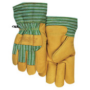Anchor Products Cold Weather Gloves, Large, Pigskin, Gold, 6/BG, #CW777