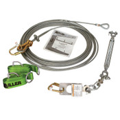 Honeywell Sky Grip Horizontal Lifeline System for 6 Workers, 300 ft, 1/EA, #SGS18300FT