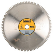 DeWalt Aluminum Cutting Saw Blades, 14 in, 100 Teeth, 1/EA, #DWA7889