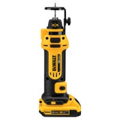 DeWalt Drywall Cutout Tool Kits, 20 V, 1/4; 1/8 in Collet, 1/EA, #DCS551D2