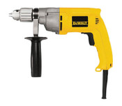 DeWalt 1/2 in Heavy-Duty VSR, Keyed Chuck with Holder, 600 rpm, 1/EA, #DW245