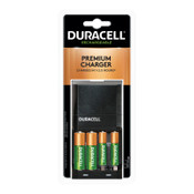 Duracell ION SPEED 4000 Hi-Performance Charger, Includes 2 AA and 2 AAA NiMH Batteries, 4/EA, #DURCEF27