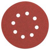 "DeWalt 5"" Random Orbit Sheets (8 Hole), 120 Grit, 25, 175/CT, #DW4311"