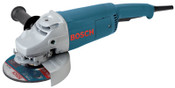 Bosch Tool Corporation Large Angle Grinders, 7 in Dia, 15 A, 6,500 rpm, Lock-On/Off Switch, 1/EA, #17726