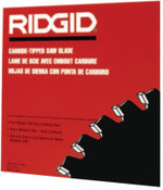 Ridge Tool Company Carbide-Tipped Circular Saw Blades, 14 in, 80 Teeth, 1/EA, #71692