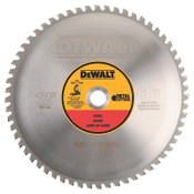 DeWalt Metal Circular Saw Blades, 12 in, 60 Teeth, 1/EA, #DWA7737