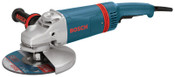 Bosch Tool Corporation Large Angle Grinders, 9 in Dia, 15 A, 6,000 rpm, Lock on/off Switch, 1/EA, #18936