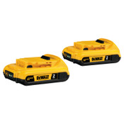 DeWalt Battery Packs, 2 A-h, 20 V, 1/EA, #DCB2032