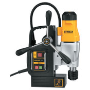 DeWalt Two Magnetic Drill Presses, 2 in diameter Cap., 1/2 in Chuck, 300 - 400 rpm, 1/EA, #DWE1622K