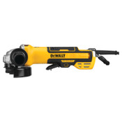 DeWalt Brushless Paddle Switch Small Angle Grinder, 5 in, Paddle Switch w/No Lock-On, 1/EA, #DWE43214N