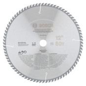 "Bosch Tool Corporation Professional Series Metal Cutting Circular Saw Blades/Non-Ferrous Metal, 12"", 1/EA, #PRO1280NFB"