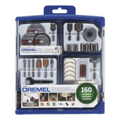 Bosch Tool Corporation 160 Pc. All-Purpose Accessory Kit, 1/EA, #71008
