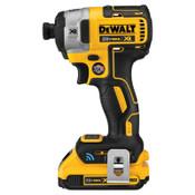 DeWalt Impact Driver Kits, 1/4 in, 3,250 rpm, 1,825 in lb, 1/EA, #DCF888D2