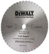 DeWalt Steel Circular Saw Blades, 7 1/4 in, 100 Teeth, 5/EA, #DW3324
